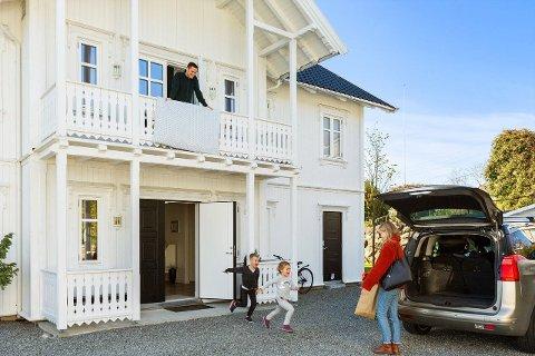 IS I MAGEN: Det tok sin tid, men etter flere år på markedet fant boligen sin nye eier. Og med en salgspris tett opp til prisantydning, har det lønnet seg for selger å ha is i magen.