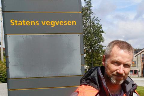 ULYKKER: – De siste ti årene har vært to ulykker med personskader, begge i tilknytning til bensinstasjonen på Haukås, sier Johnny Pedersen,  trafikksikkerhetskoordinator ved Statens vegvesen og sitter i Haugesund.