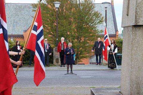 HOVEDTALER: Prodekan Liv Reidun Grimstvedt ved Høgskolen på Vestlandet, campus Haugesund.