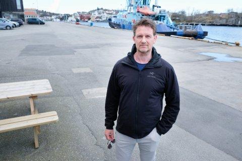 SVÆRT KRITISK TIL RAPPORTEN: Kommunestyrerepresentant for Karmøy Arbeiderparti, Robin Hult.