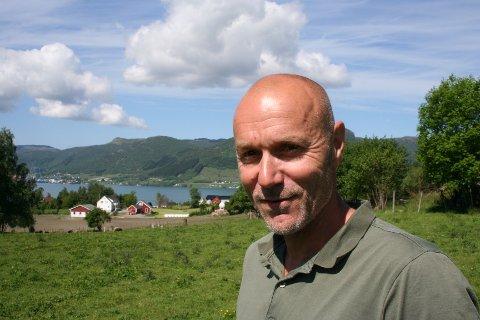KOM MED INNSPEL: Dagleg leiar i Vindafjord tomteselskap, Morten Helland, ber folk koma med innspel om kva dei ønskjer seg av miljøtiltak og smarte løysingar når eit nytt bustadfelt skal utviklast i Ølen.
