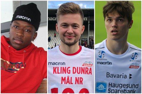 BLIR I VARD: Claus Niyukuri, Robert Kling og Thomas Kinn.