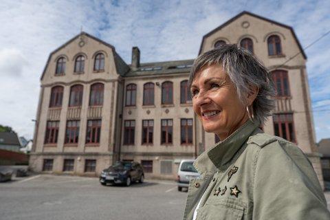 BLIR PENSJONIST: May-Brit Vaksdal slutter etter 25 år som kulturhusleder.
