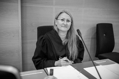 Statsadvokat Nina Grande er aktor i straffesaken mot fem polakker tiltalt for grov narkotikakriminalitet.