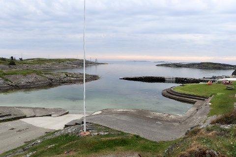 KYSTPERLE: Kvalsvik badeplass er en av Haugesunds best besøkte badesteder.