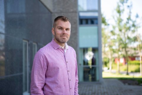 ENOVA-STØTTE: Kristian Gautesen, leder for forretningsutvikling i Haugaland Kraft, skal lede prosjektet.