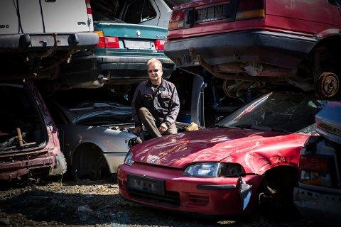 ANNEN STATUS: Ola Utvik kan fortelle om at bilopphuggere får en litt annen status når det blir fokus på gjenbruk.
