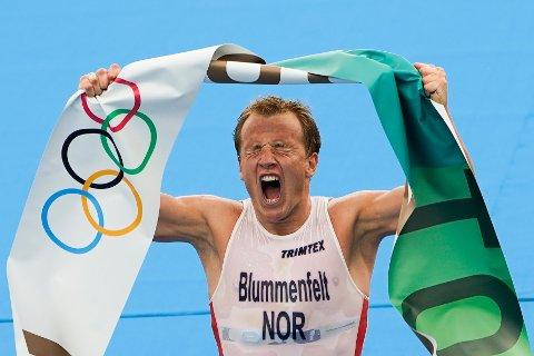 OL-MESTER: Kristian Blummenfeldt fra Bergen tok Norges første gull i sommer-OL på ni år.