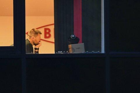 I MØTE: Brann-trener Eirik Horneland, sportssjef Jimmi Nagel Jacobsen og daglig leder Vibeke Johannessen sitter fredag kveld i krisemøte.