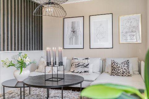 SKAPTE INTERESSE: Boligselger Ruth Kjerstin Strand Eikeland sier hun er veldig glad for innsatsen hun la i å få boligen klar for salg.
