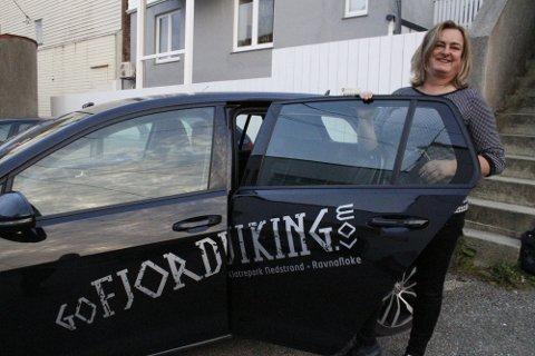 SATSER VIDERE: Margaret Hystads reiselivssatsing vokser.