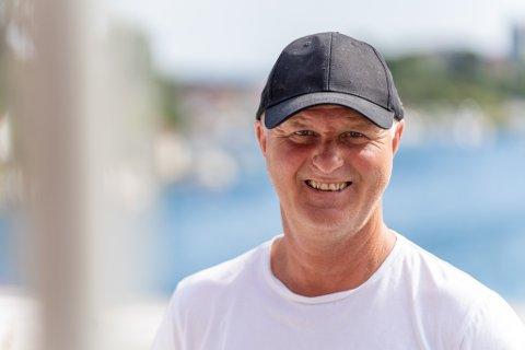 OPTIMIST: Morgan Haringstad ønsker å utvikle havna i Kopervik.