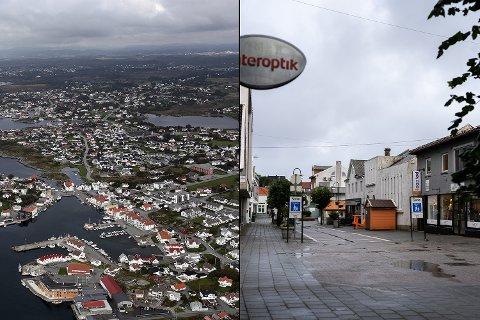 HVOR? Havner nytt kulturhus i Karmøy på Åkra (til venstre) eller i Kopervik?