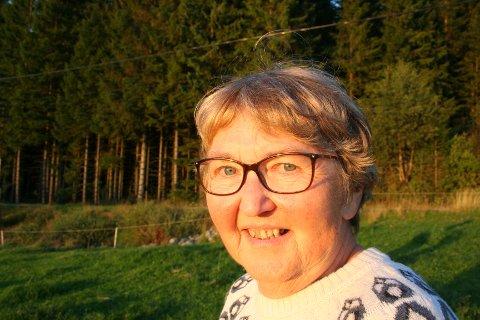 TREDJE GENERASJON: Ingrid Steinsland vaks opp med besteforeldra i huset på burreisargarden.