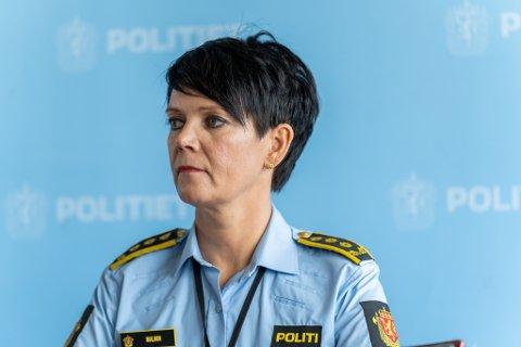 BEGJÆRTE FENGSLING: Politiinspektør Unni Byberg Malmin.
