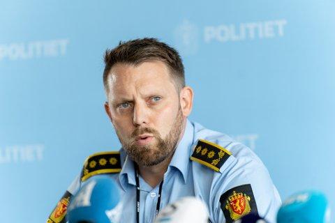 Politiinspektør Lars Ole Berge.