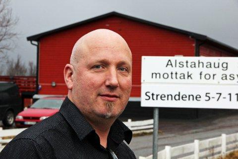 Kenneth Pedersen er leder ved Alstahaug statlige mottak for asylsøkere på Strendene.