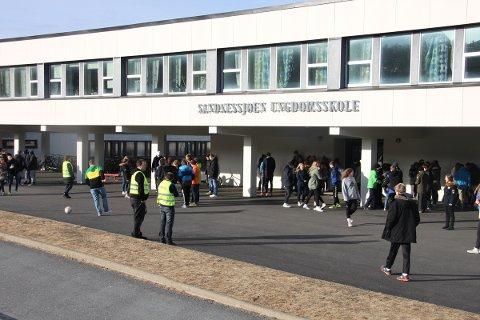 Sandnessjøen Ungdomsskole.
