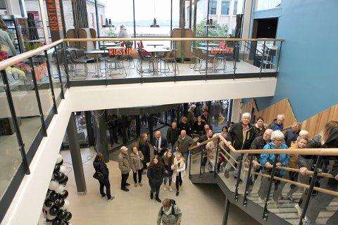 Fra åpningsdagen i Amfi Skansen 29. september.