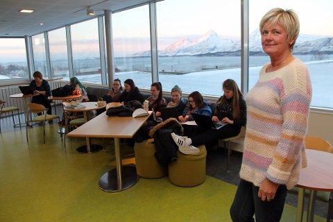 Sissel Merethe Høberg er ny rektor på Sandnessjøen videregående.