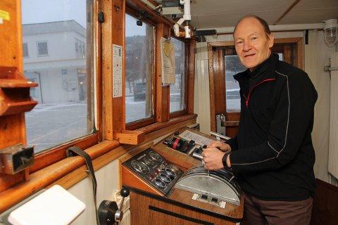 Johnny Andersen, daglig leder i Stiftelsen Gamle Helgeland, mener sjøfolk ikke blir hørt av de som har styringen på samferdsel.