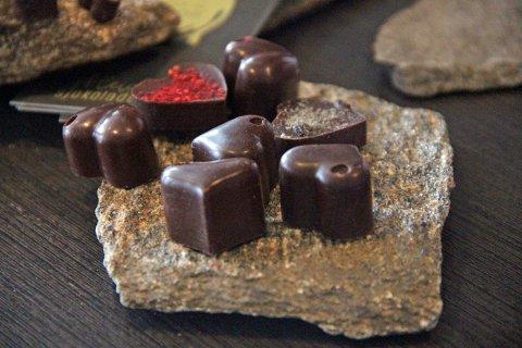 Eksempel på Heidi Vold Lorentzsens sjokolade.
