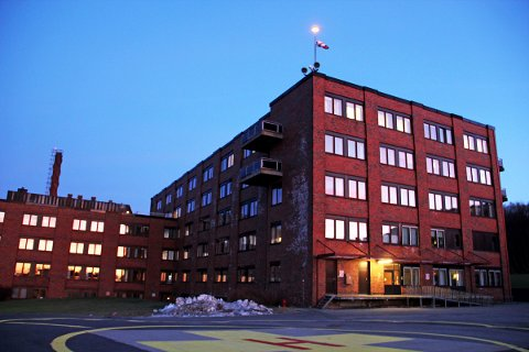 Sykehuset i Sandnessjøen.