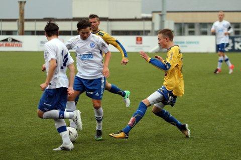 Markus Larssen Guttormsen spilte godt i andre omgang.