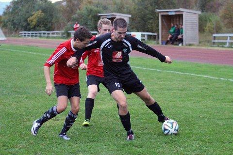 Martin Abelsen ga Radaasen 1-0 mot Bossmo/Ytteren. Radaasen tapte 2-5.
