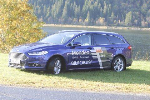 VINNER: Mondeo er en helstøpt bil som kommer til å selge som bare det. Ford har gjort en stor jobb med å redusere støy i den nye modellen. Foto: Pål Leknes Hanssen
