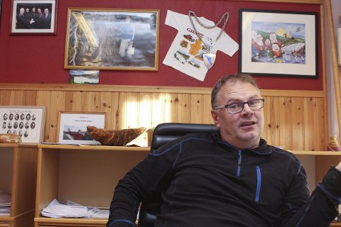 KANDIDAT: Bjørn Ivar Lamo topper Aps valgliste i Grane og kan ta fatt på sin fjerde periode som ordflører hvis velgerne gir ham ny tillit. Foto: Jon Steinar Linga