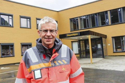 Prosjektleder Bård Nyland  har travle dager med å finne ut hvem som skal få  bygge E6 Helgeland nord. (Foto: Rune Pedersen)