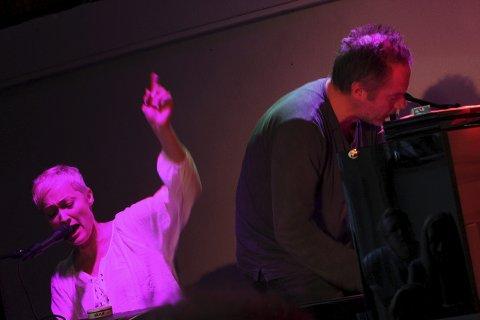 Til nye høydare: Live Marie Roggen og Erlend Skomsvoll i imponerende samspill. En jazzopplevelse vel verdt å få med seg.
