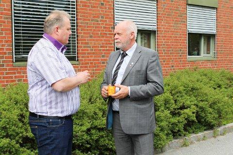 Bjørn Larsen og Jann-Arne Løvdahl