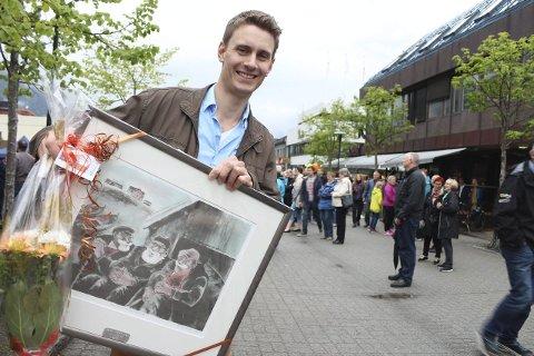 HVEM SKAL HEDRES: Aleksander Nordaas fikk Vefsn kommunes kulturpris i 2014. Nå vil kultursjefen ha inn forslag på kandidater for 2020.