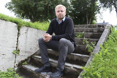 NYTENKING: SVs førstekandidat i Alstahaug, Eirik Berglund tror det er andre løsninger på soningskøen enn private fengsel. Foto: Jarl G. Sandholm