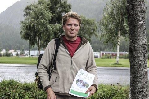 Er klar: Harald Lie legger ikke skjul på at han kan tenke seg jobben som ordfører i Hattfjelldal.