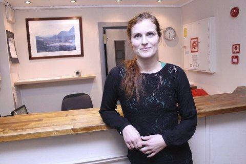 Omstilt: Tillitsvalgt, og kokk, Maria Lian ved Nordlandia Lyngengården Hotell. Foto: Jon Steinar Linga