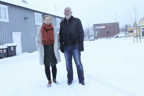 Saksgang: SVs Åshild Pettersen og Rødts Gunnvald Lindset mener at kommunen har utført saksgangen i omvendt rekkefølge. Foto: Jon Steinar Linga