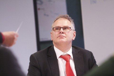 SKAPER TRYKK: Grane-ordfører Bjørn Ivar Lamo ønsker å starte renoveringen av laksetrappene i Vefsna raskest mulig.