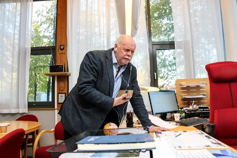 Jann-Arne Løvdahl tjener best blant ordførerne. Foto: Rune Pedersen