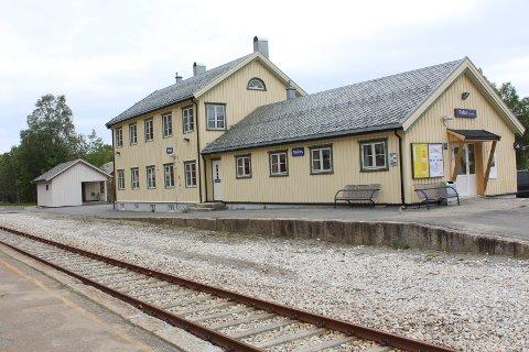 Trofors stasjon, Grane.