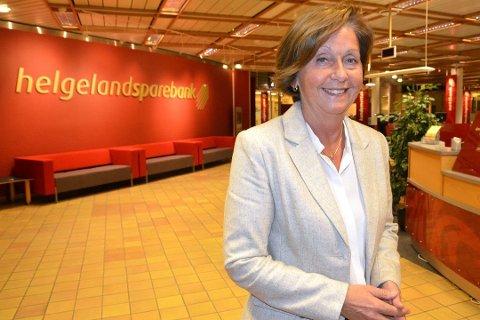 Banksjef Lisbeth Flågeng kan glede seg over et toppresultat per utgangen av tredje kvartal