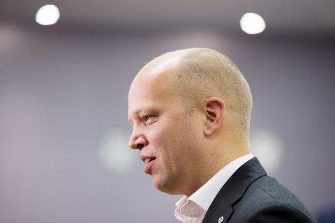 Trygve Slagsvold Vedum leder Senterpartiet.