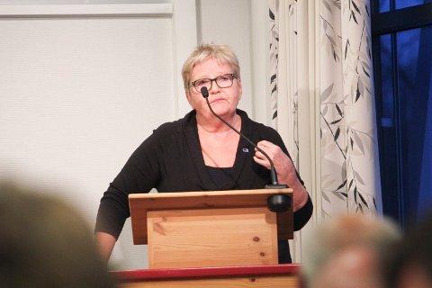 KRITISK: May Anne Brand (H), Vefsn kommunestyre. Foto: Jon Steinar Linga