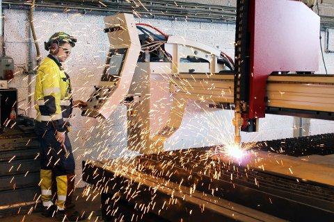 STREIK: Bilfinger er en av bedriftene på Helgeland som kan bli hardest rammet dersom Fellesforbundet og Norsk Industri ikke blir enige. Foto: Nils Lorentsen