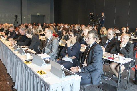 LITE NYTT: Sent tirsdag kveld diskuterte fylkestinget i Nordland på nytt ny flyplass og flyplasstruktur på Helgeland. Uten å tilføre debatten noe nytt. Foto: Marit Almendingen