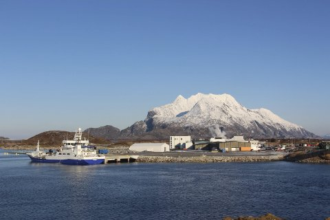 NYTENKING: Marine Harvests anlegg på Hestøya kan til neste år få verdens største «smultring». Arkivfoto: Jarl G. Sandholm