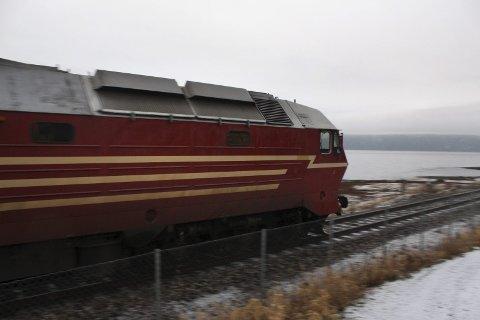 TOG: En toghenger har sporet av ved Bjerka mellom Mosjøen og Mo, opplyser Jernbaneverket. Illustrasjonsfoto: Jon Steinar Linga