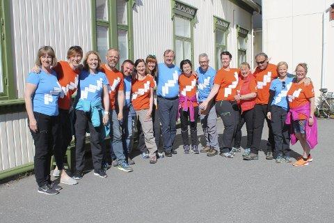 Opplevelser: Medarbeidere i NordNorsk Reiseliv AS har fått med seg opplevelser fra Mosjøen, blant annet her på Fru Haugans hotell. foto: Benedicte Wærstad